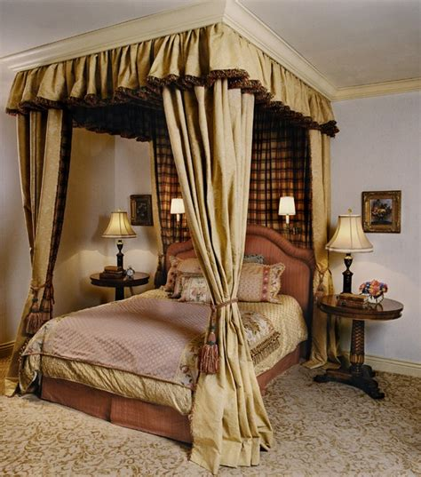 Gold Bed Canopy | the regal inspiration various canopy beds fit for royalty