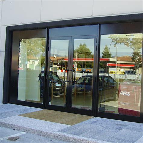 porte per negozi in alluminio vetrata in alluminio per negozio di abbigliamento