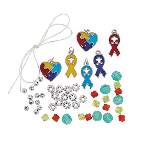 crafts for with autism autism awareness bracelet craft kit jewelry crafts