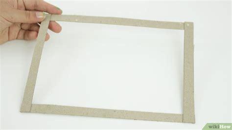 fare una cornice come fare una cornice 15 passaggi illustrato