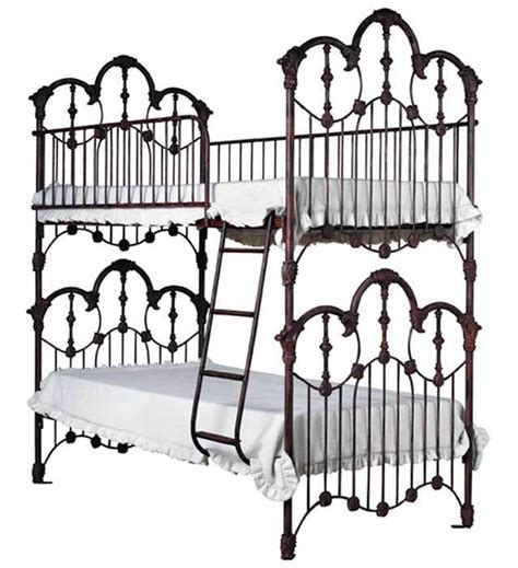 Wrought Iron Bunk Beds Style Bunk Beds Wrought Iron Beds Pinterest