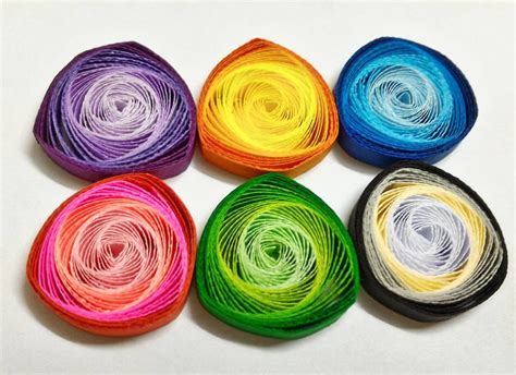 Kertas Paper Quilling 3 Mm Putih how to make quilling vortex coils with a slotted quilling tool