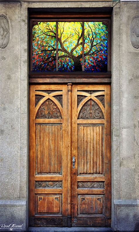 25 best ideas about stained glass door on