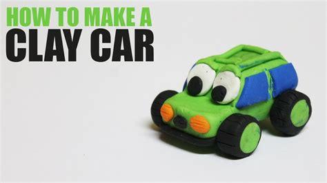 make a car how to make a clay car clay tutorial for