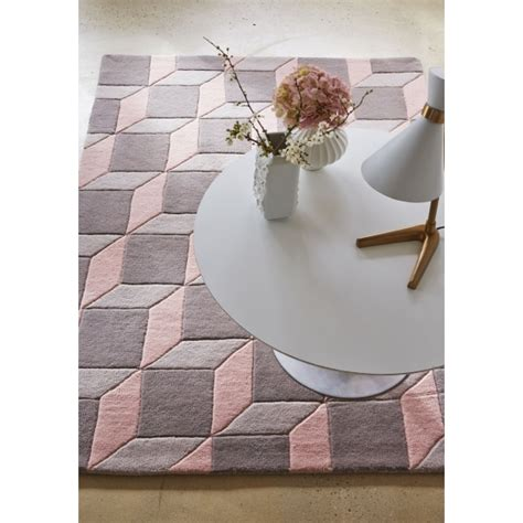 Tapis De Salon Rose