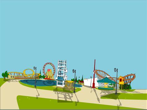 theme park clipart free clipart amusement park markacio