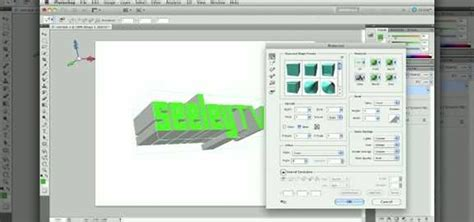 use design tool how to use the 3d design tools in adobe photoshop cs5