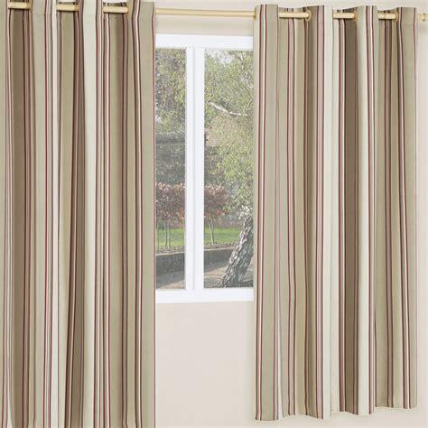 cortinas de poliester cortina corta luz sol 2 metros listrado vermelho 1