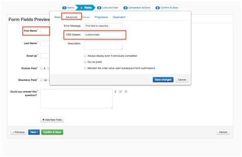 css tutorial multiple classes advanced form field option css classes