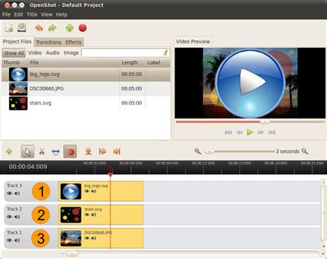 tutorial openshot linux openshot video editor blog tutorial composite multiple
