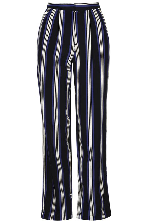 Striped Trousers striped wide leg trousers trousers clothing