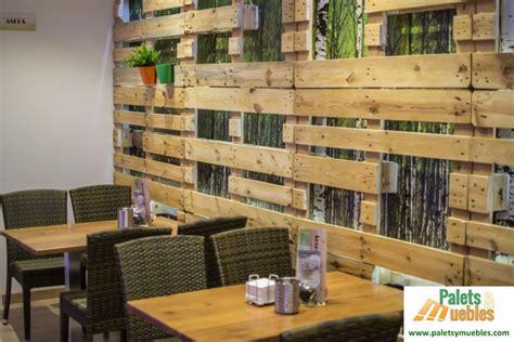 decoracion con palets de madera decoracion bar con palets palets y muebles