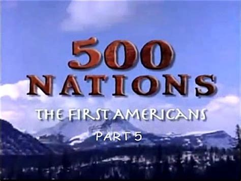 Tst Hb Lratherblue 500 nations the americans part 5