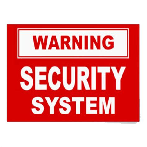 security stickers home security alarm signs and stickers