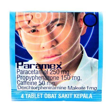 Paramex Sakit Kepala jual daily deals paramex obat sakit kepala 1 box 50 harga kualitas terjamin