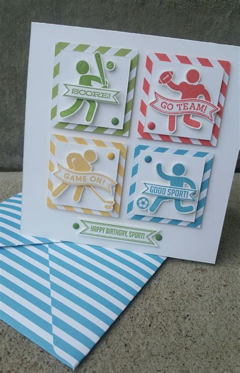 Paper Crafting Cards - cards on stin up punch and st sets