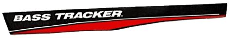 bass boat windshield graphics bass tracker boat decals