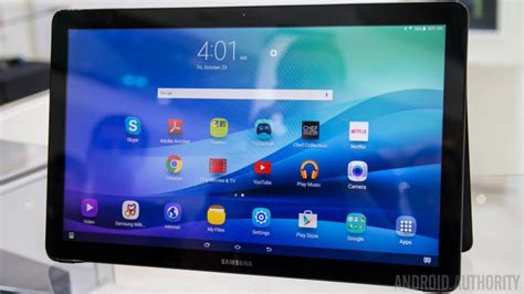 samsung galaxy view announced we go on android authority