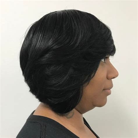 Layered Weave Hairstyles by Layered Bob Weave Hairstyles For Black Layered