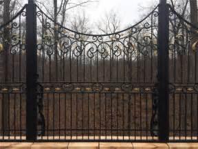 wrought custom iron fence panels wrought iron