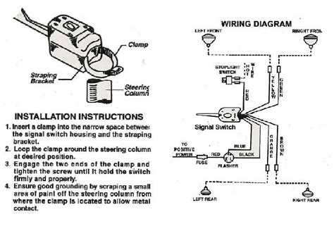 turn signal wiring diagram wiring diagram and fuse box