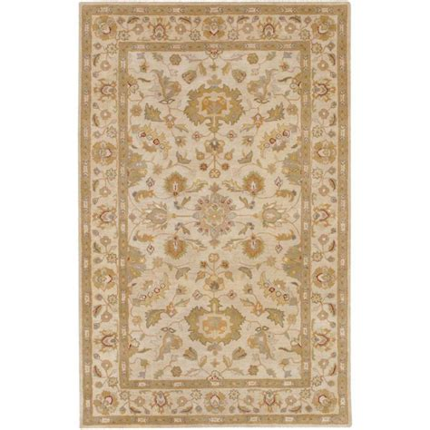 Artistic Weavers Palaja Beige Wool 8 Ft X 11 Ft Area Area Rugs Home Depot