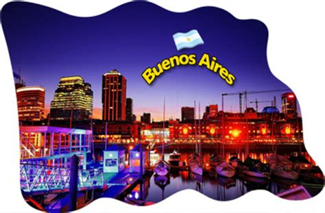 Magnet Kulkas Resin Argentina buenos aires argentina fridge magnet flag epoxy travel souvenir