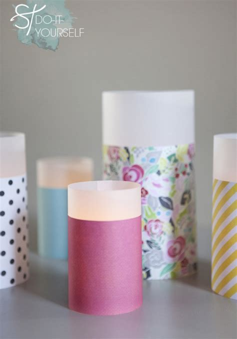 Easy To Make Paper Lanterns - learn how to make paper lanterns in different sizes