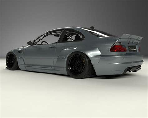 Frp Wide Rear Plate 17090224 pandem frp wide rear fenders bmw e46 m3 coupe