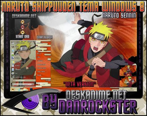 themes for windows 8 1 naruto naruto sennin theme windows 8 by danrockster on deviantart