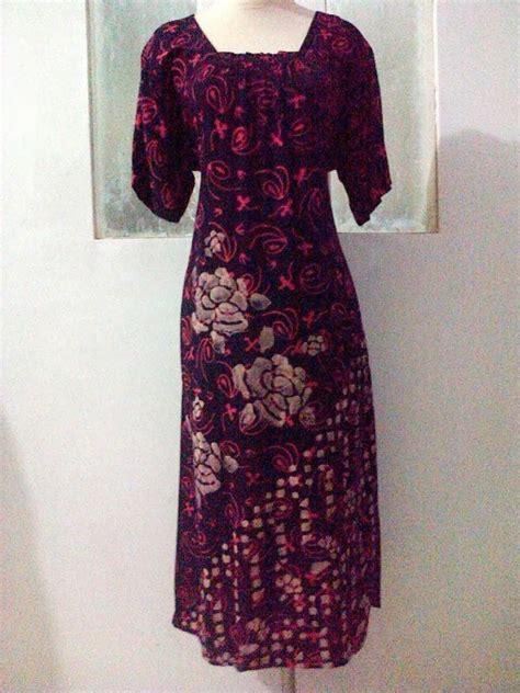 Daster Kalong Batik Cap jual daster batik cap mumer batik pekalongan grosir