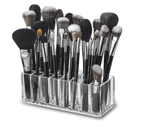 Acrylic Brush Akrilik Tempat Make Up byalegory acrylic palette organizer clear