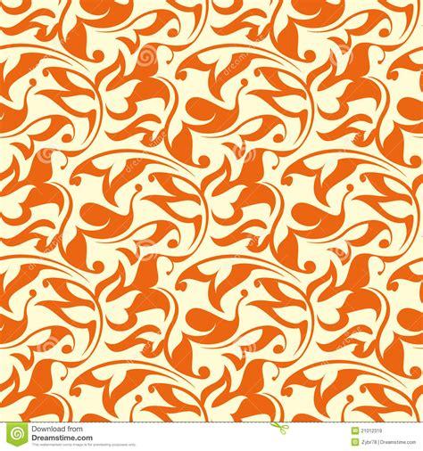 seamless orange pattern orange seamless wallpaper pattern stock vector image