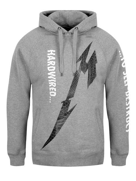 metallica hoodie metallica snake light men s grey hoodie ebay