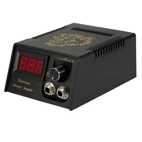 tattoo machine and power supply top selling professional digital lcd tattoo power supply