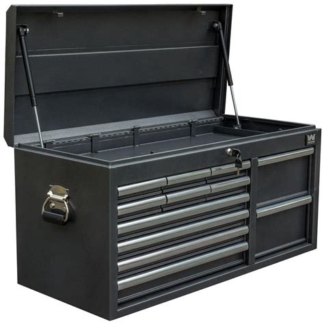 service truck cabinet tool box wen 41 in 12 drawer tool chest powdercoat black 74512