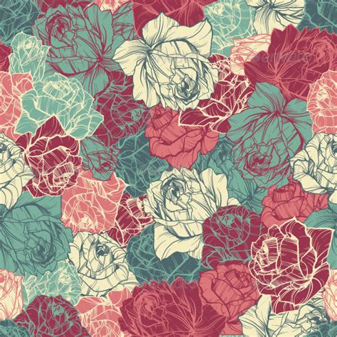 sentence pattern for this rose looks beautiful 10 beautiful premium seamless floral patterns premiumcoding