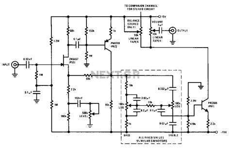 Pre Tone Stereo hi fi tone pre schematic get free image about