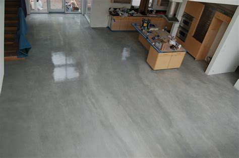 Grey Stained Concrete Floors   Concrete Floors   Bradenton