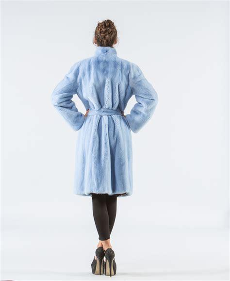 Jacket Light Blue light blue mink fur jacket 100 real fur coats haute acorn