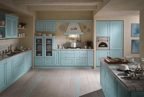 kitchen color schemes blue inspiring kitchen colour schemes decoholic