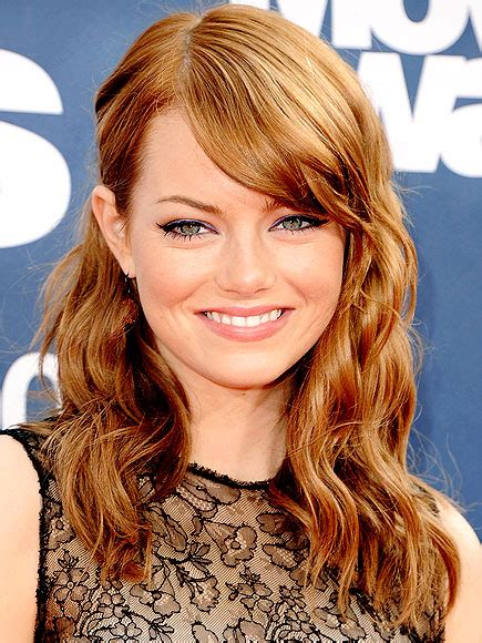 emma stone ginger top 3 emma stone s hairstyles women styler
