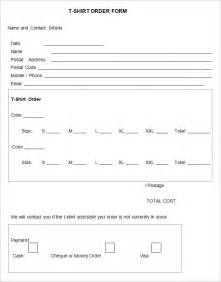 t shirt order forms template custom tshirt order form excel studio design gallery