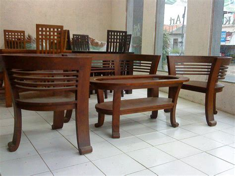 Set Kursi Tamu Cantik set meja kursi tamu cantik mebel jati toko furniture jepara furniture minimalis modern mebel