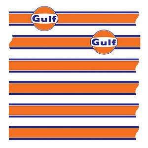 Gulf Racing Aufkleber by Gulf Le Mans Decal Stripe Kit Sports