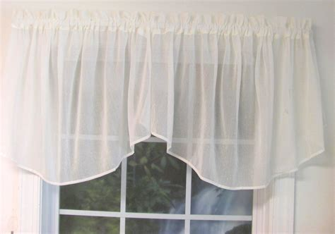 cascade valance curtain sea glass cascade valance