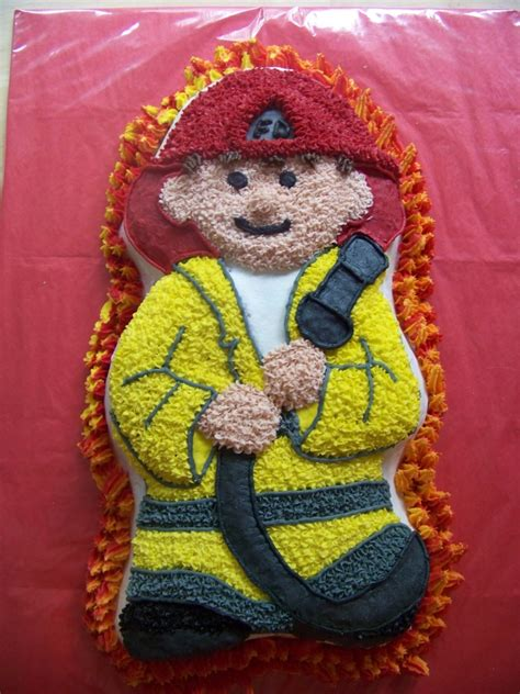 fireman cakes decoration ideas  birthday cakes