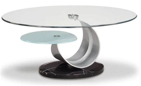unique glass coffee tables circular unique contemporary coffee glass table design