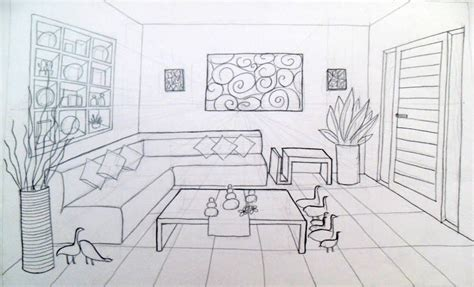 inilah sketsa desain interior ruang tamu tahun 2016 inspirasi untuk anda