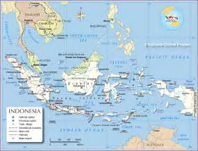 Indonesia Map World by Political Map Of Indonesia Maritime Southeast Asia